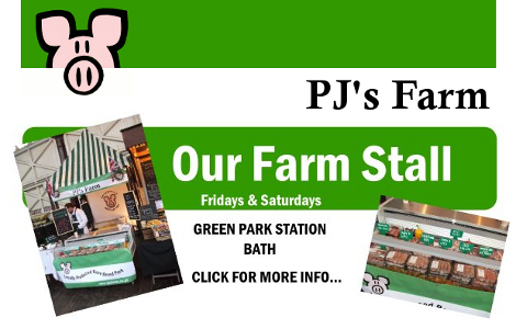 pjs farm stall bath - green park station leaflet information